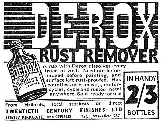 Derox Rust Remover