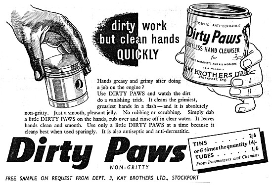 Dirty Paws Hand Cleanser - Anti Dermatitis