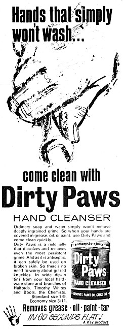 Dirty Paws Hand Cleanser