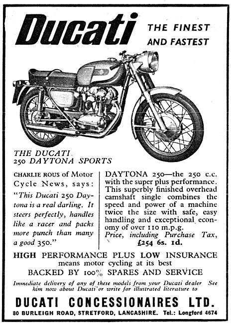Ducati 250 Daytona Sports