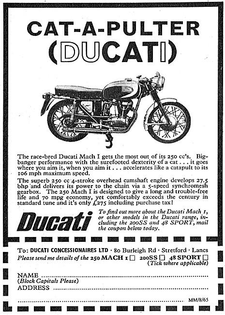 Ducati Mach 1 250 cc