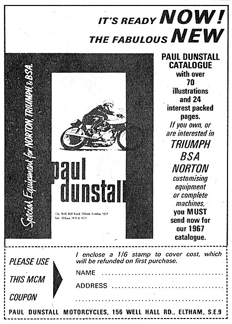 Dunstall Motorcycle Products