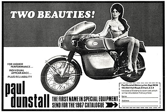 Paul Dunstall Special Motorcycle Equipment 1967
