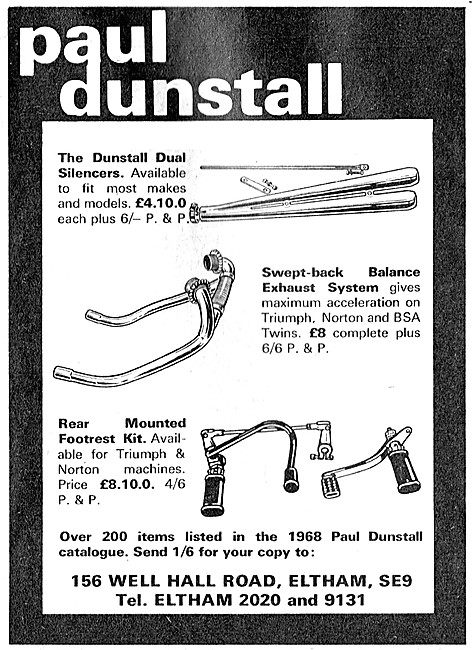 Paul Dunstall Performance Motorcycle Parts