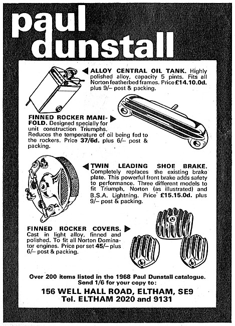 Paul Dunstall Custom Performance Parts For Motorcycles