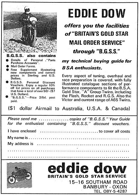 Eddie Dow Gold Star Service