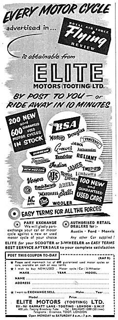 Elite Motors. Motor Cycle, Scooter & 3 Wheeler Sales
