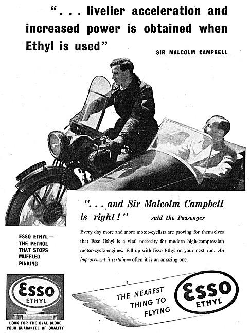 Esso Ethyl Petrol