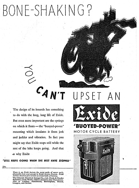 Exide Batteries For Motor Cycles