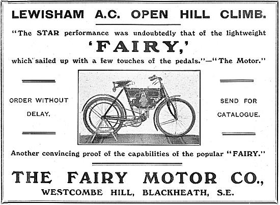 1908 FMC Fairy Motor Cycles