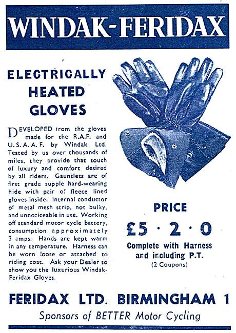 Feridax Windak Heated Gloves