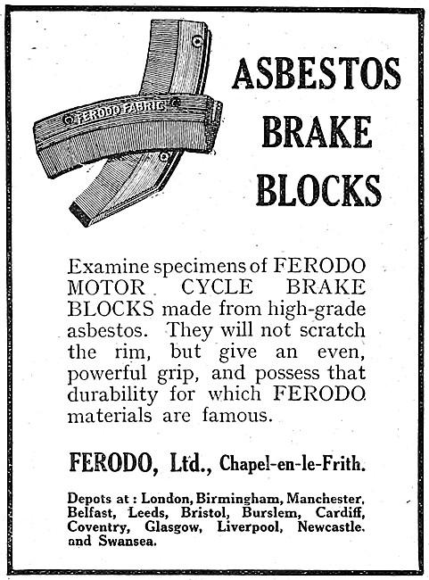 Ferodo Asbestos Brake Blocks