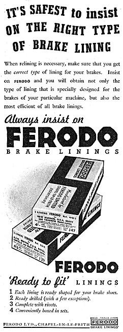 Ferodo Brake Linings