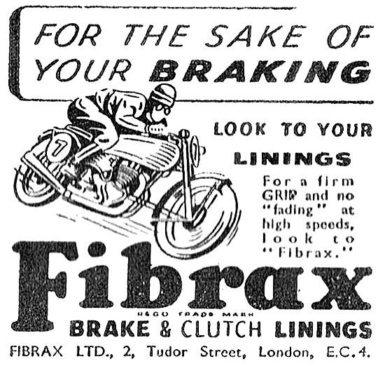 Fibrax Brake Linings