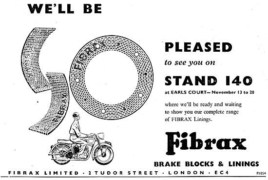 Fibrax Brake Linings - Fibrax Clutch Linings