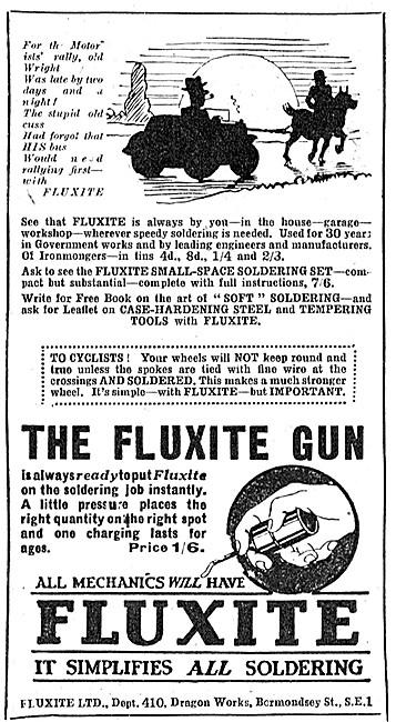Fluxite Solder & Soldering Accessories - Fluxite Solder Gun
