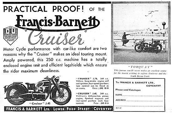 Francis-Barnett J.45 Cruiser