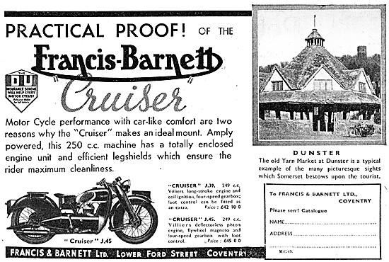 Francis-Barnett J.39 Cruiser