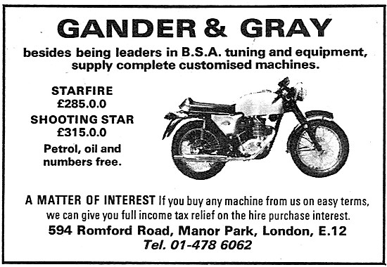 Gander & Gray Performace Motorcycle Conversions & Equipment