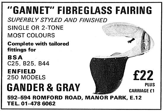 Gander & Gray Gannet Fibreglass Fairing