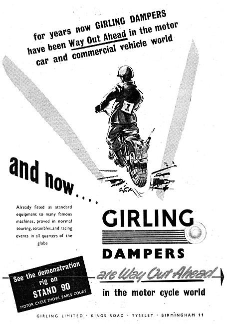 Girling Dampers - Girling Shock Absorbers