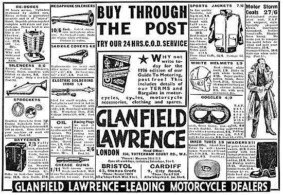 Glanfield Lawrence Motor Cycle Sales & Parts Service
