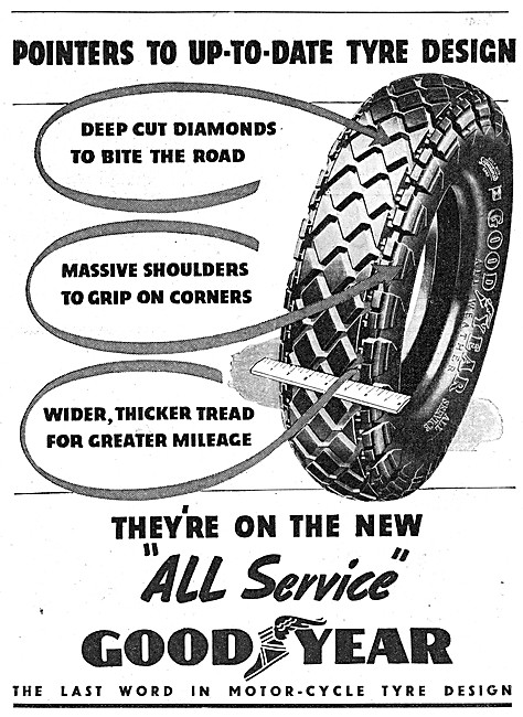 Goodyear All Service Tyres 1938