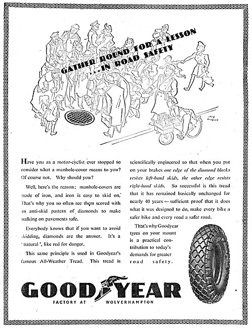 Goodyear Motor Cycle Tyres