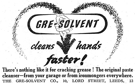 Gre-Solvent Hand Cleanserf