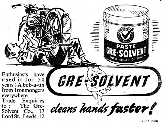 Gre-Solvent Hand Cleanser