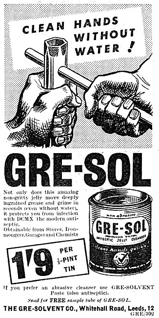 Gre-Sol Hand Cleanser