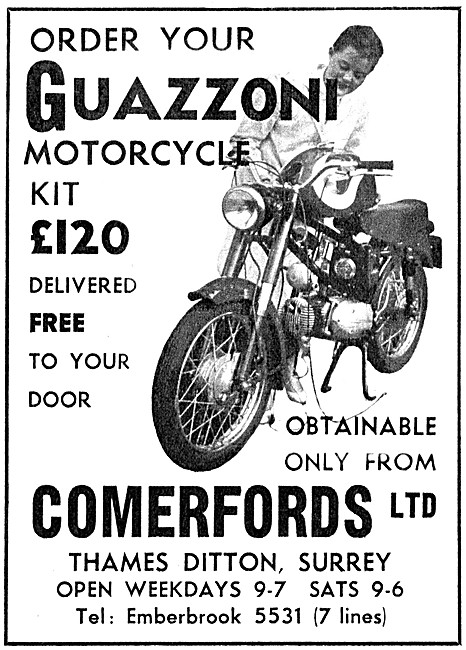 Guazzoni Motor Cycles - Comerfords