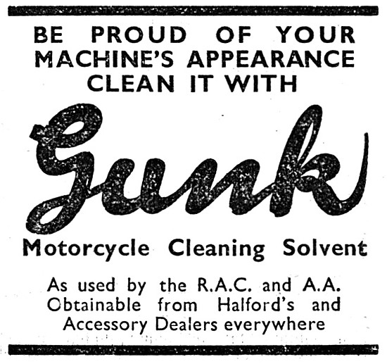 Gunk Motorcycle Cleaning Solvent