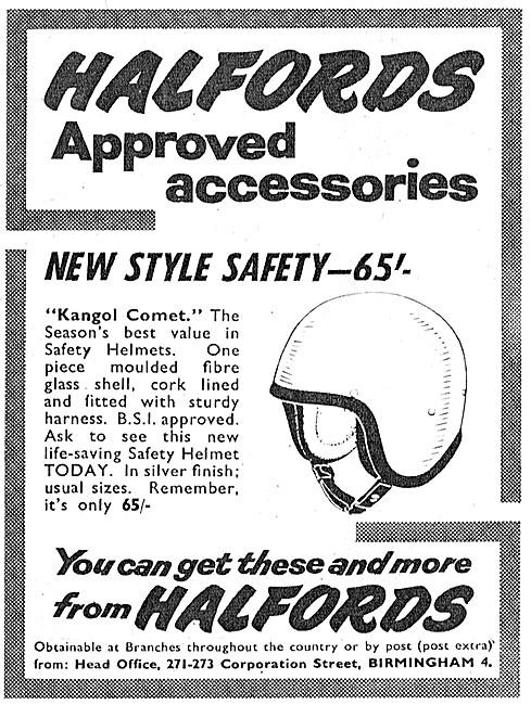 Halfords Kangol Comet Helmet
