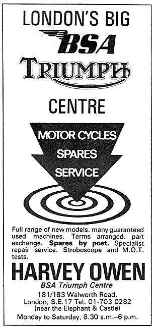 Harvey Owen Motorcycle Sales & Service
