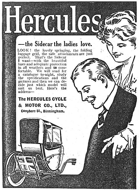 Hercules Sidecars