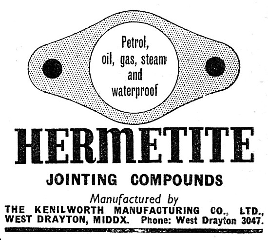 Hermetite Jointing Compounds