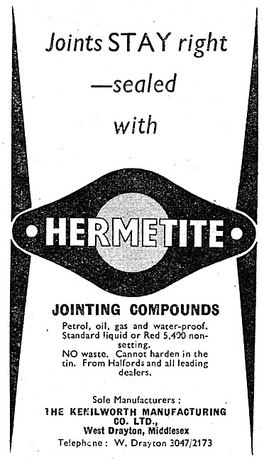 Hermetite Gasket Jointing  Compound