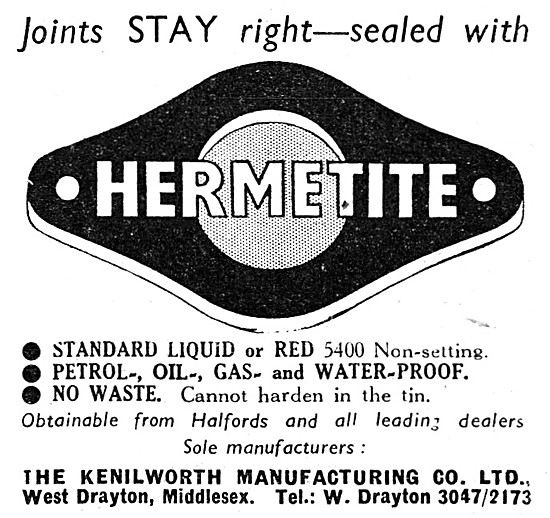 Hermetite Jointing Compound