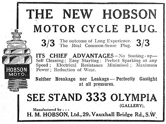 Hobson Spark Plugs