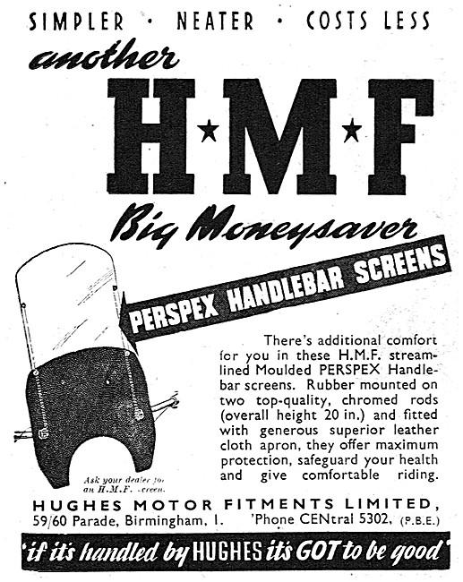 HMF Perspex Handlebar Screens