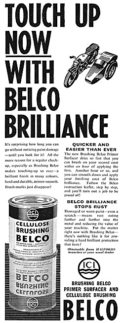 ICI Belco Touch-Up Paints & Primers