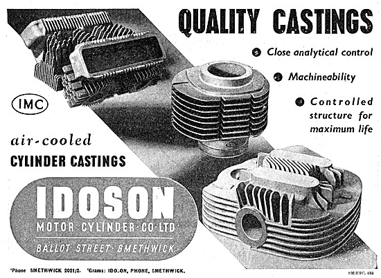 Idoson Air-Cooled Cylinder Castings