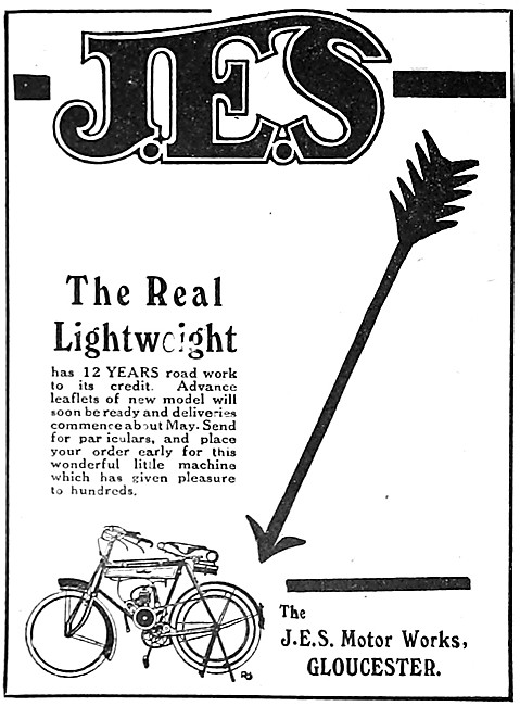 J.E.S.Motor Cycles - JES Motor Cycles. Gloucester