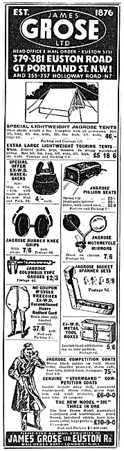 James Grose Motorcycle Sales & Parts Stockists