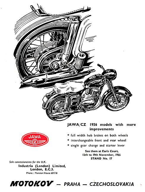 Jawa CZ Motor Cycles 1955