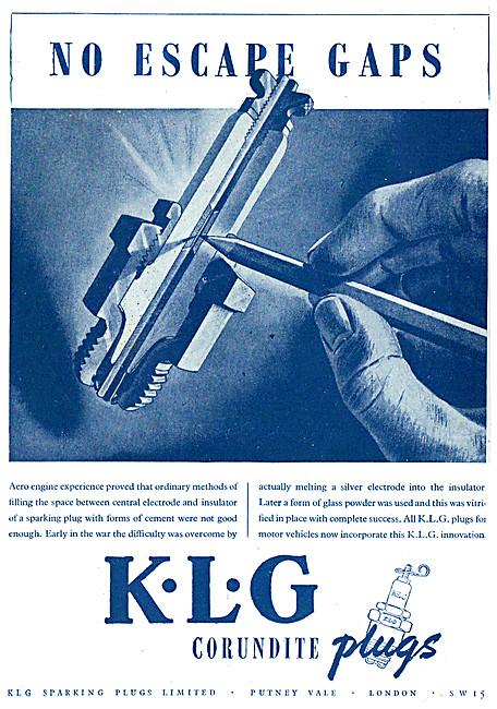 KLG Spark Plugs - KLG Corundite Spark Plugs