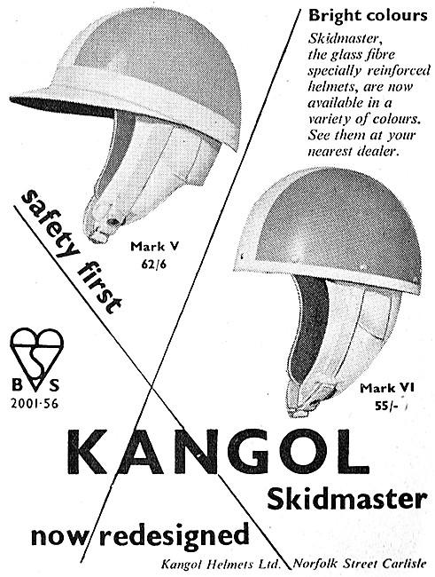 Kangol Crash Helmets