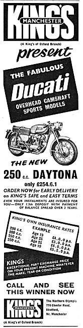 Kings Motorcycle Sales - Ducati Daytona