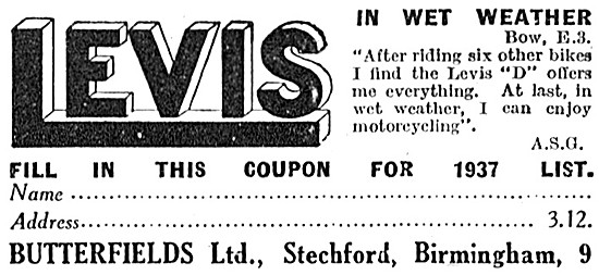Levis Motor Cycles - Levis Motorcycles